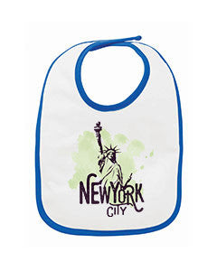 Paint your NYC BABYS' BIB