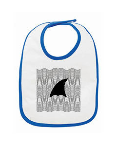 New S. Beach shark BABYS' BIB