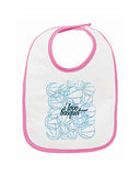 Just love basquet BABYS' BIB