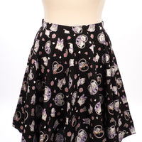 Hell Bunny Amelia Skirt in Black