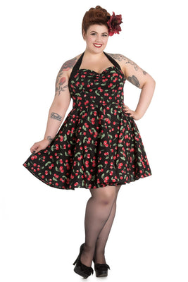 Hell Bunny Cherry Pop Mini Dress