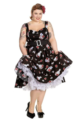 Hell Bunny Drink Me Dress