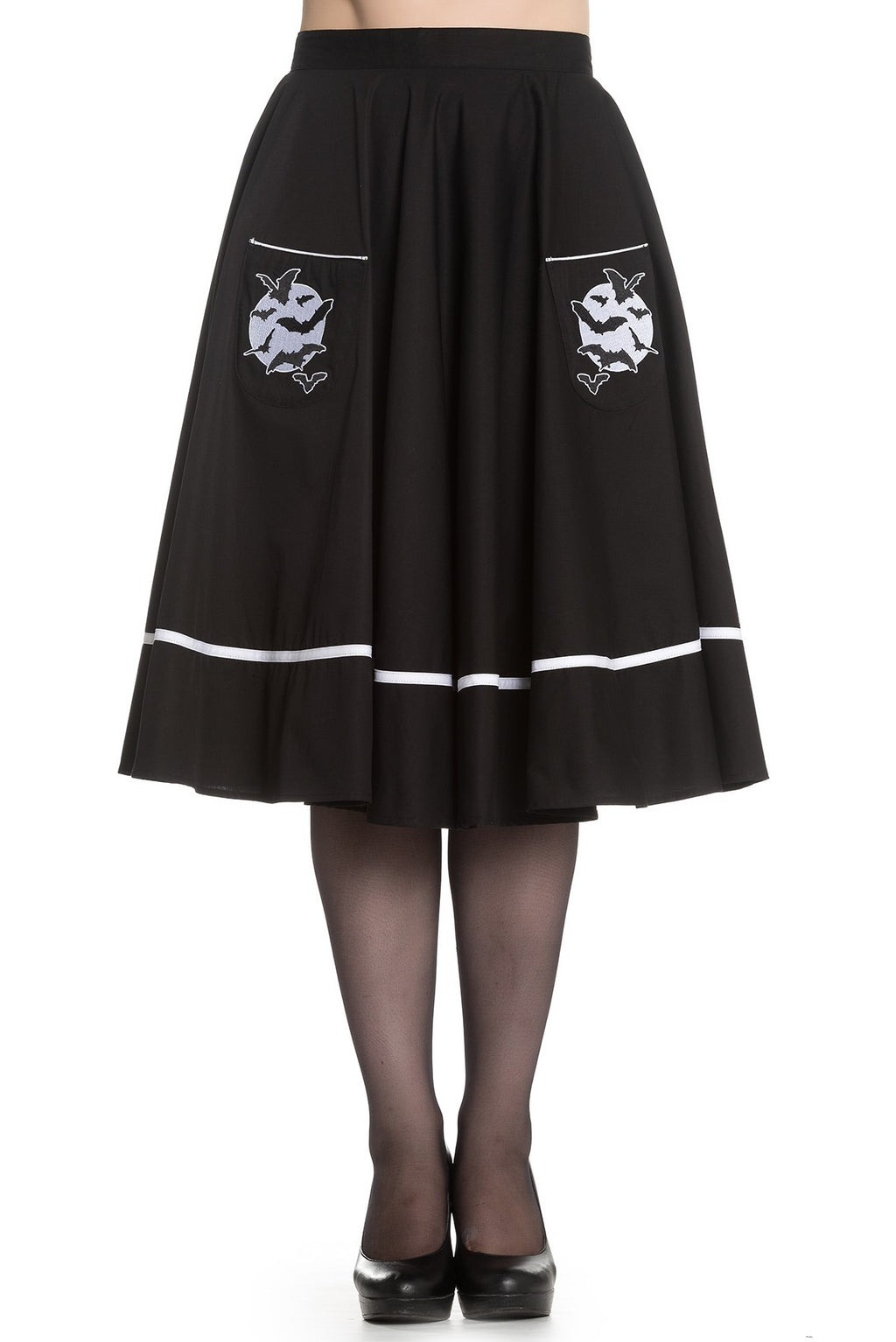 CLOSE-OUT Hell Bunny Full Moon Skirt