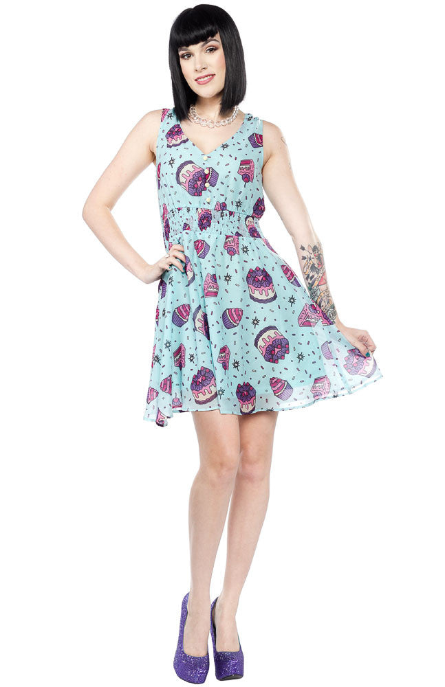 Sourpuss Clothing Most Cake Dress