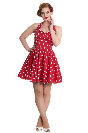Hell Bunny Red Nicky Mini Dress