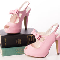 Pin Up Couture BETTIE-03 Pink Heels