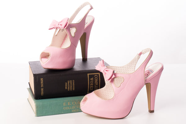 Puttin' on the Ritz Heel in Pink