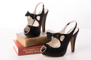 Pin Up Couture BETTIE-03 Black Heels