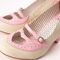 Pin Up Couture POPPY-18 Pink Heels