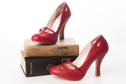 Pin Up Couture SMITTEN-20 Red Heels