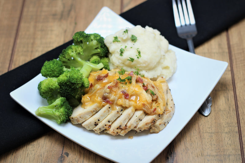 Apple Bacon Cheddar Chicken (Traditional or Paleo)
