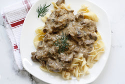 Beef Stroganoff (Traditional or Keto)