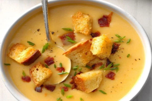 Beer Potato Cheese Soup