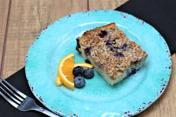 Blueberry Crumble Breakfast Strata
