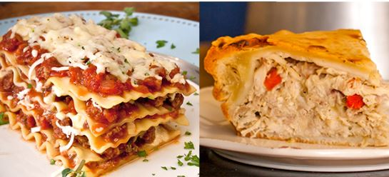 LadyFingers Family Freezer Bundle: Italian Sausage Lasagna and Chicken Pot Pie!