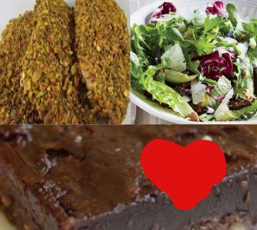 Pistachio Crusted Chicken Valentines Dinner Bundle