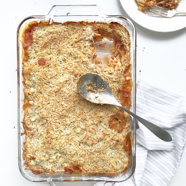 Hallelujah Kitchen Chicken Parmesan Casserole