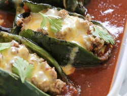 Chicken Chili Rellenos (Traditional or KETO)