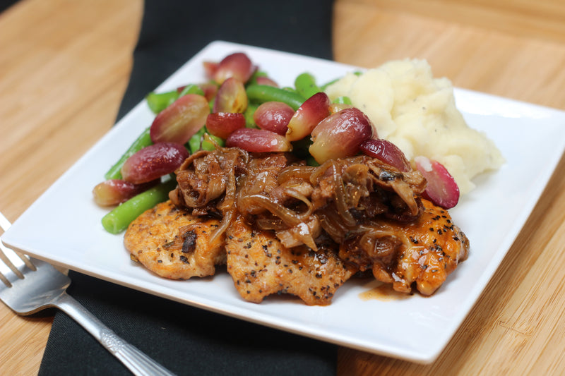 Coq Au Vin with Roasted Grapes (Member Favorite!)