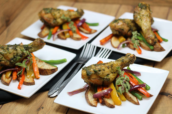 Herb Roasted Drumsticks