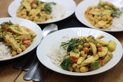 Keto Coconut Curry Chicken