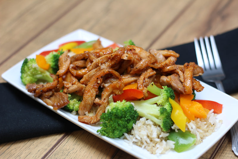 Honey Sriracha Chicken Stir Fry