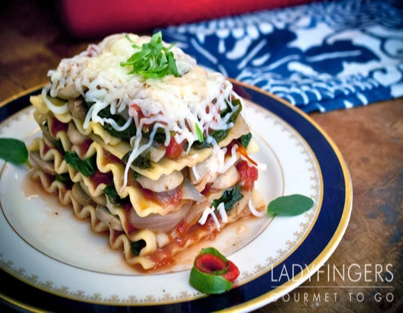 Loaded Vegetable Lasagna
