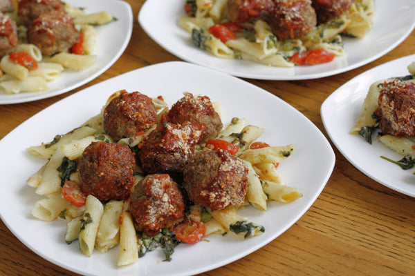Chef Daniel's Bison Meatballs