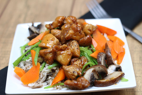 Maple Ginger Chicken Stir Fry