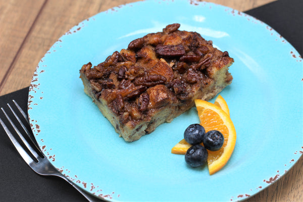 Maple Pecan Breakfast Strata