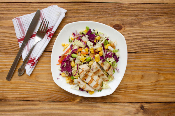 Miso Ginger Salad with Grilled Chicken (Delivered Sunday, October 22)