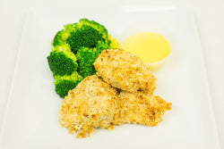Kid's Chicken Nuggets with House Honey Mustard Dipping Sauce & Broccoli