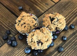 Blueberry Muffin- Half Dozen