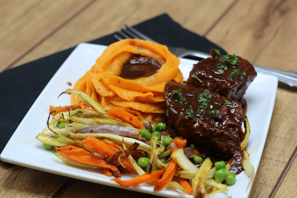 Paleo Balsamic Braised Beef