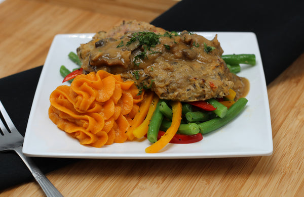 Paleo/W30 Turkey Salisbury Steak