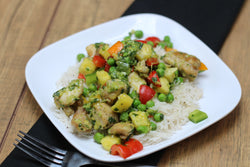Pineapple Pesto Chicken