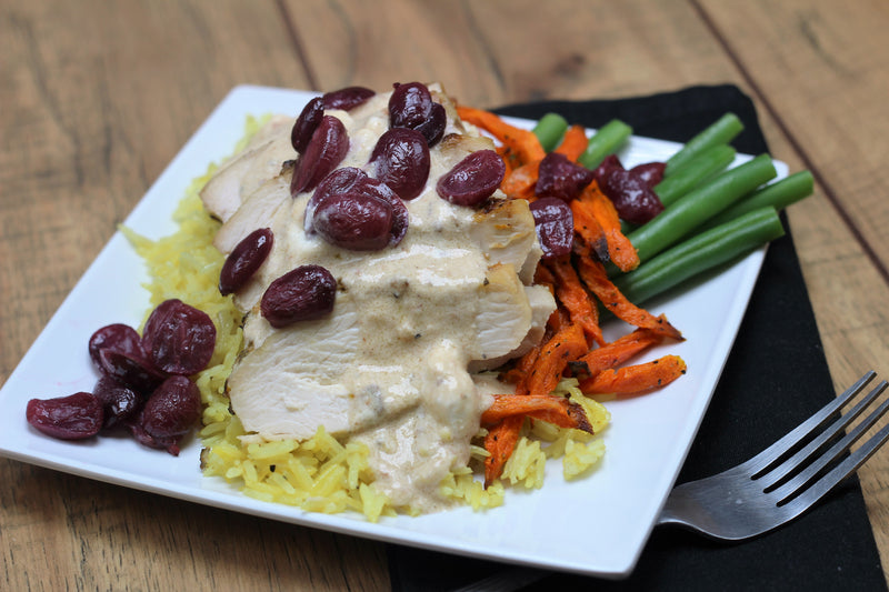 Rosemary Chicken with Grapes and Gorgonzola (Frozen)