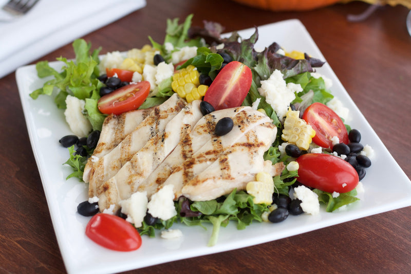 Southwest Grilled Chicken Salad with Chili Lime Vinaigrette
