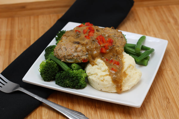 Turkey Salisbury Steak