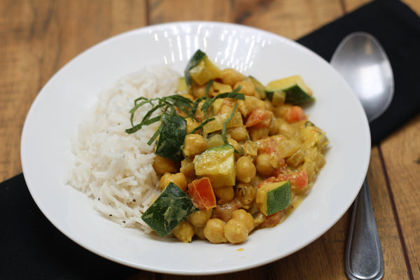 Coconut Curry with Chickpeas (Delivered Wednesday, December 20)