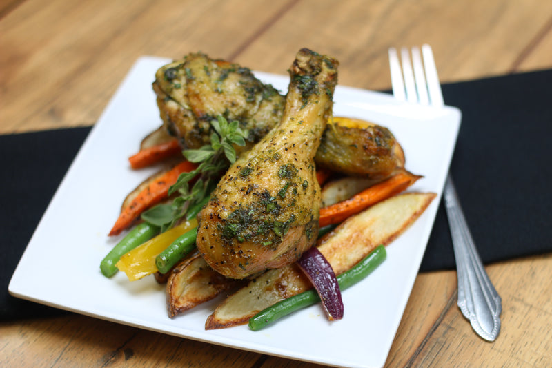 Herb Roasted Drumsticks (W/30 or Keto) Fresh Frozen