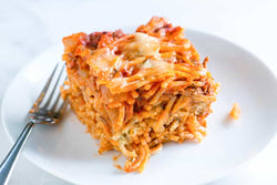 Homestyle Baked Spaghetti