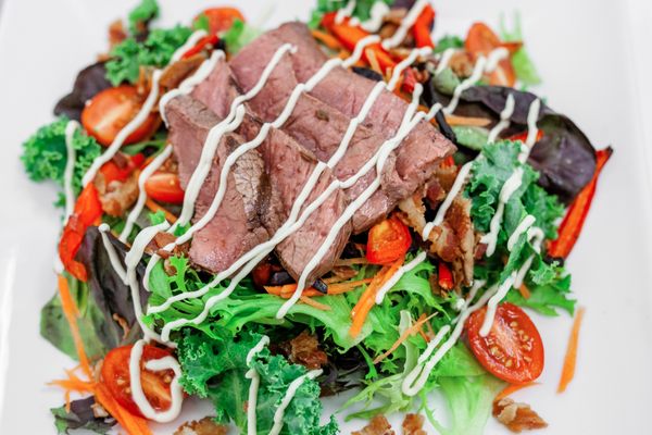Black & Blue Steak Chop Salad (Keto)