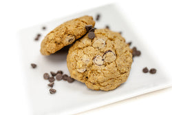 Gluten Free Oatmeal Flax Chocolate Chip Cookies