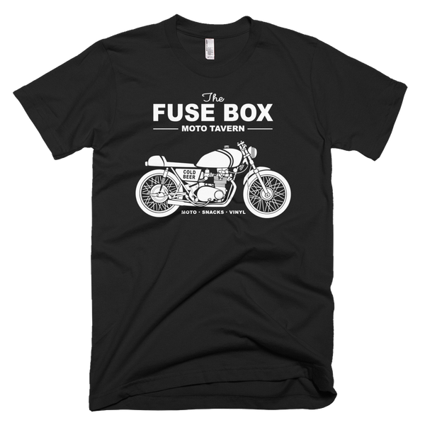 Fuse Box Moto Old Time Tavern T-Shirt
