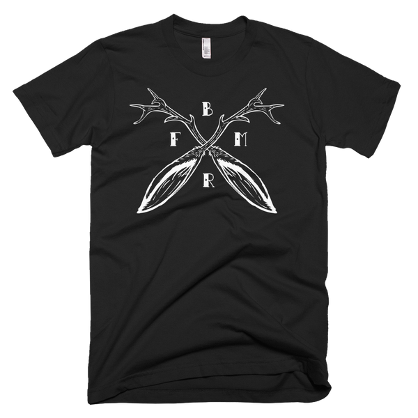 Fuse Box Moto Riders Jackalope Horns T-Shirt