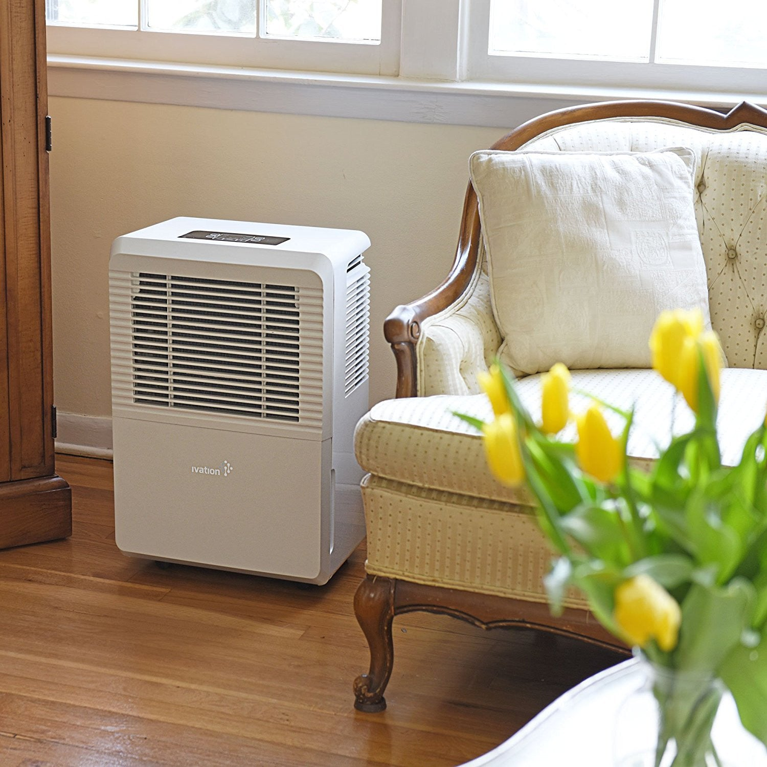 Large-Capacity For Spaces U Ivation 70 Pint Energy Star Dehumidifier WITH PUMP