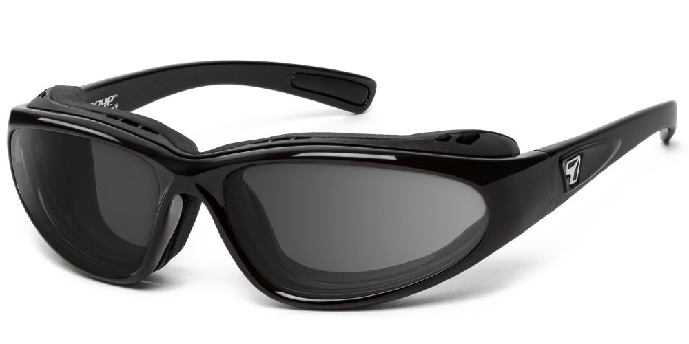 Bora - Rx - 7eye by Panoptx - Motorcycle Sunglasses - Dry Eye Eyewear - Prescription Safety Glasses