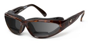 Cape | Bifocal Reader - 7eye by Panoptx - Motorcycle Sunglasses - Dry Eye Eyewear - Prescription Safety Glasses