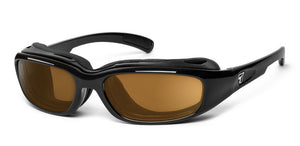 Churada | RX - 7eye by Panoptx - Motorcycle Sunglasses - Dry Eye Eyewear - Prescription Safety Glasses